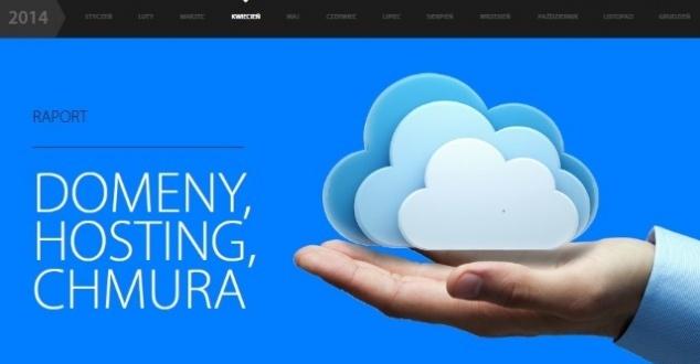Raport Interaktywnie.com: Domeny, hosting, chmura