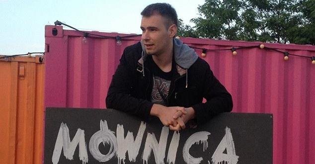 Na zdjęciu Adam Srebniak z Grupy Płodni (fot. Grupa Płodni)