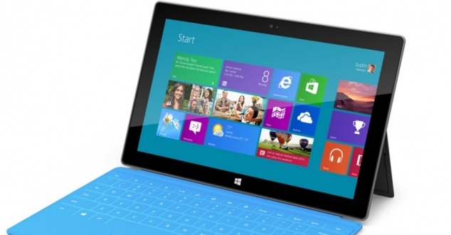 Microsoft pokazuje tablet z Windows 8