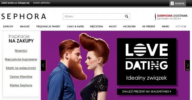 Sephora wkracza do sieci. Otwiera sklep internetowy
