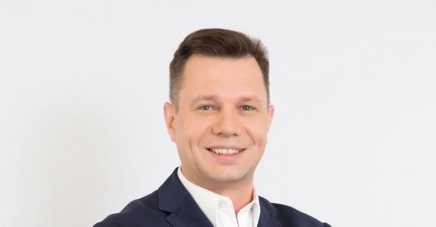 Na zdjęciu Marcin Woźniak, prezes funduszu KnowledgeHub