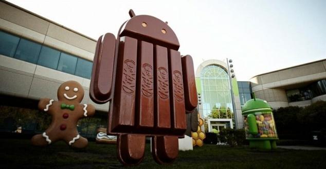 Android KitKat: ile osób z niego korzysta?