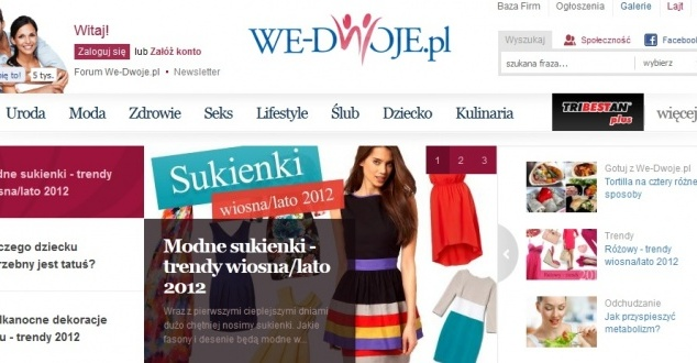 We-dwoje.pl przejęte przez Edipresse