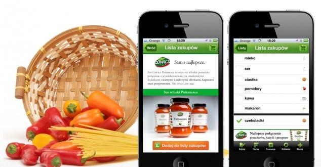 Tak reklamuje się włoskie sosy w mobile'u