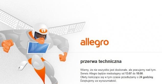 Allegro już działa. Co było przyczyną awarii?