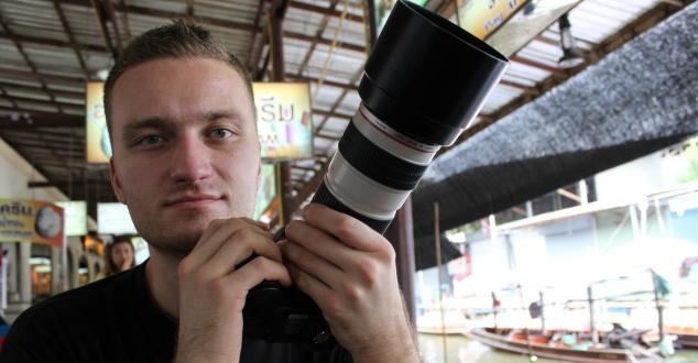 Na zdjęciu Piotr Kulczycki, fot.: Crafton