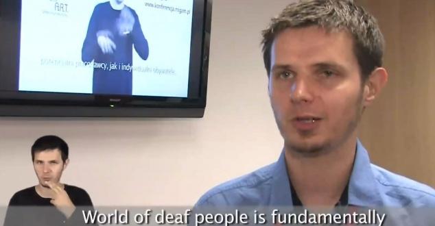 Translator języka migowego prosto z Polski