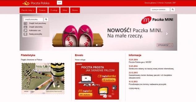 Nowa witryna Poczty Polskiej. Krok w dobrą stronę?