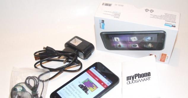 Test myPhone DuoSmart. Co potrafi dwukartowiec z Biedronki