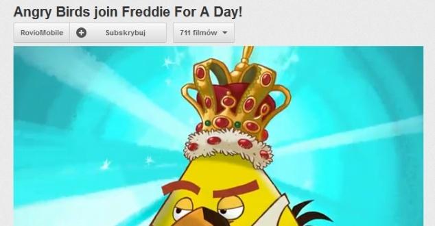 Freddie Mercury w Angry Birds. Z okazji urodzin