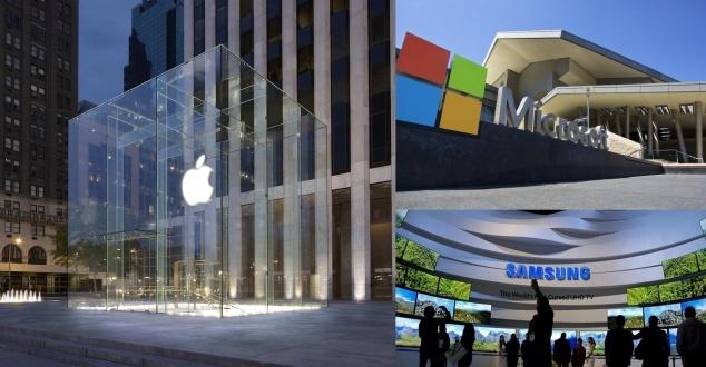 Microsoft się budzi, Samsung zasypia, a Apple bije wszystkich na głowę