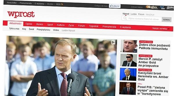 Wprost.pl się zmienia. Nowy layout i dział Biznes