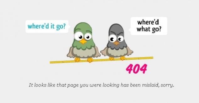 Jak z błędu zrobić atut, czyli najbardziej kreatywne strony 404