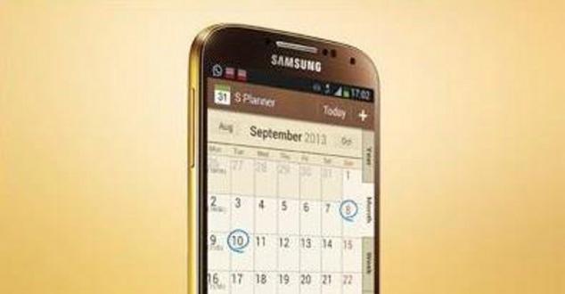 Samsung stawia na złote telefony