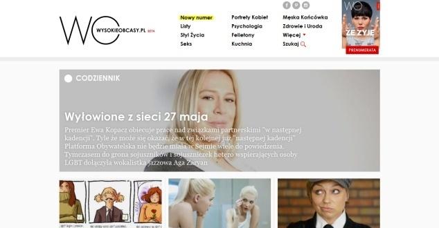 Wysokieobcasy.pl w nowej odsłonie? Na razie jest lifting, a przydałby się remont
