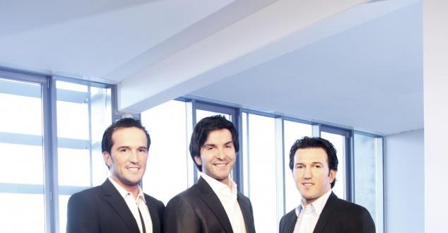 Faruk, Cevat i Avni Yerli, założyciele firmy Crytek [fot. Crytek]