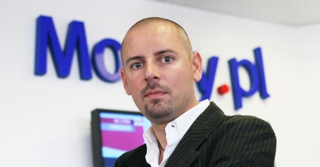 Tomasz Bonek, redaktor naczelny Money.pl, fot. Tomasz Brankiewicz
