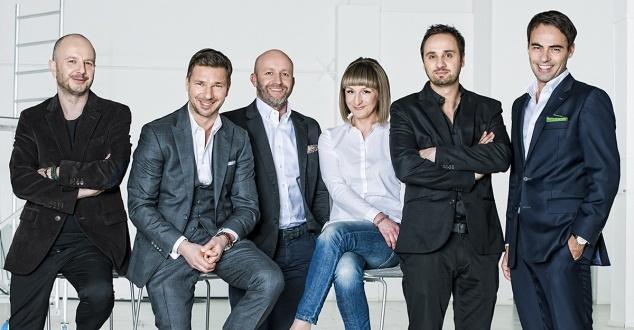 Na zdjęciu od lewej: Maciej Hutyra, Jakub Potrzebowski, Jacek Kołtonik, Agnieszka Gołębiowska, Bartek Gołębiowski, Marek Żołędziowski