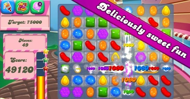 fot. Candy Crush Saga z Google Play