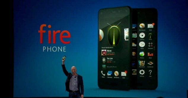 Amazon pokazał nowego smartfona - Fire Phone