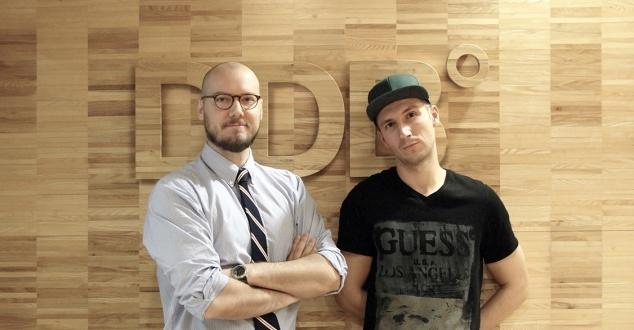 Michał Sęk i Tomasz Bujok [fot. DBB Warszawa]