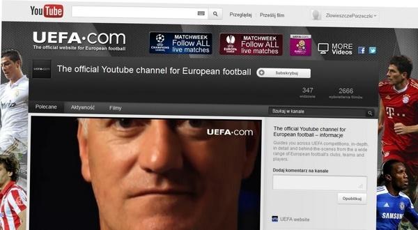 Euro 2012 zobaczysz też na YouTube