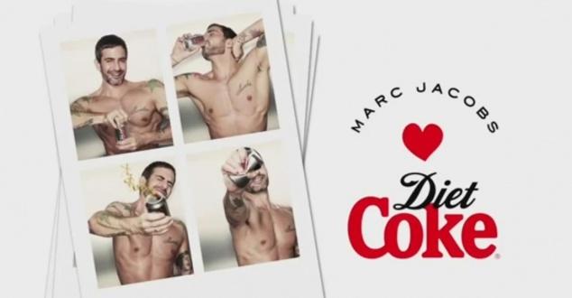 Marc Jacobs w reklamie Diet Coke