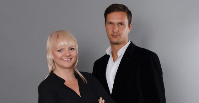 Na zdjęciu Patrycja Bruź-Soniewicka i Piotr Morkowski z Saatchi & Saatchi (fot. Andy Kwiatkowski)