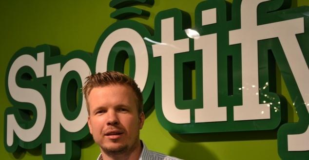 Na zdjeciu Przemek Pluta, Business Manager CEE w Spotify