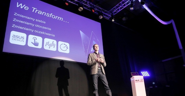 Asus promuje nowe notebooki