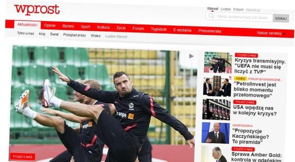 Nowy Wprost.pl modny i nowoczesny. Ale niczym się nie wyróżnia
