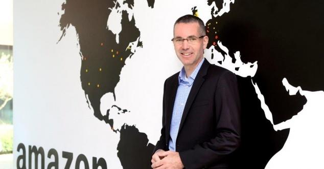 Tim Collins, dyrektora Amazon na Europę/Materiały prasowe