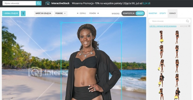 Interactive Stock, bank zdjęć, które sam komponujesz