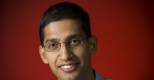 Na zdjęciu Sundar Pichai (fot. Google Newsroom)