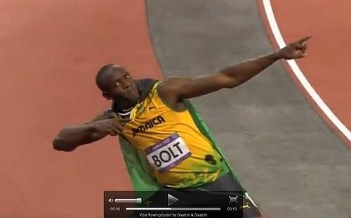 Visa świętuje z Usainem Boltem
