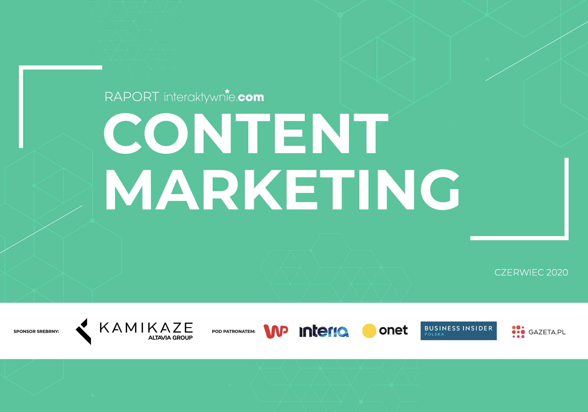 Content marketing - ebook z raportem
