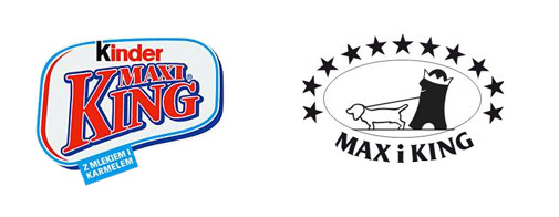Kinder Maxi King vs Maxi King
